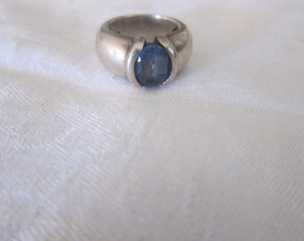 silver ring solid vintage