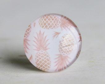 Pineapple Handmade Photo Glass Cabochon 10mm 12mm 14mm 15mm 16mm 18mm 20mm 25mm 30mm-512-15