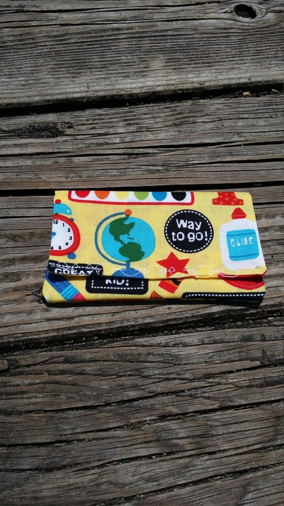 Teacher Gift Card Holder/ Teacher Gift Money Holder/ Gift card Wallet / Gift Card Holder / Teacher Appreciation/ Earbuds Holder