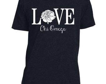 Chi Omega Love Vneck
