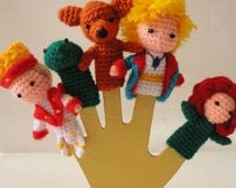 Finger puppets The little Prince