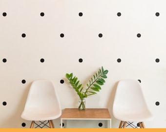 Polka Dot | Confetti Patterns Dots Spots Shapes Kids Nursery | Removable Wall Decal Sticker | MS136VC-Polka