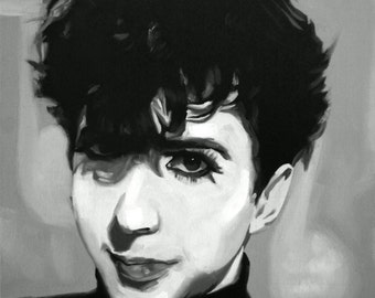 Marc Almond Fine Art Print (Soft Cell - Synthpop - New Wave - Tainted Love - 1980s - Post Punk - Artpop - 80s)