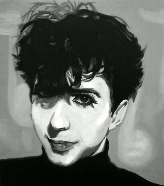 Marc Almond Art Print