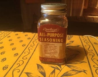 Vintage Rawleght's Seasoning  Bottle 1950