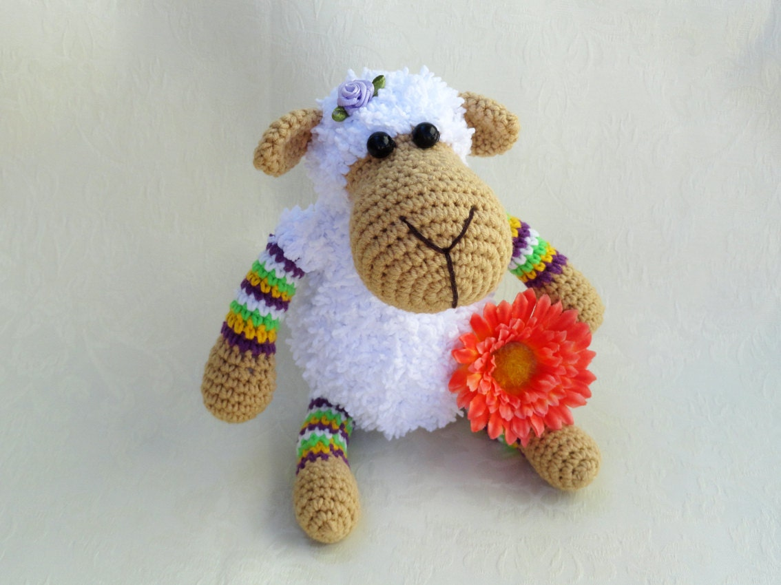 Etsy Amigurumi Sheep : Amigurumi sheep Crochet sheep Crochet small toy Cute toy