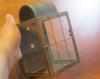 SALE!!! Copper Light Cage / Outdoor Lighting / Outside Lighting Fixture