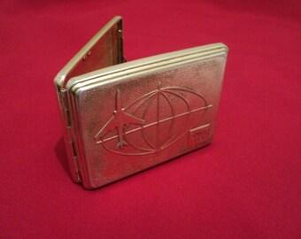 Vintage metal casing cigarette holder from the USSR, ВДНХ