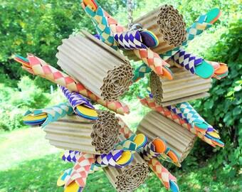 Shredder Wreath, Bird Toy