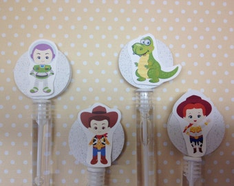 Toy Story Party Bubble Favors - Set of 10