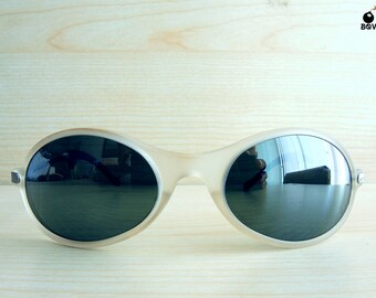 RAY BAN vintage sunglasses bausch&lomb lenses silver mirror lenses ORBS ice rare