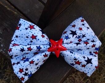 Patriotic Star Bow