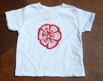 Hand Screen Printed Heirloom Tomato T-Shirt