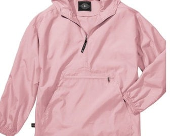 Charles River embroidered pack and go pullover -Womens and Childrens