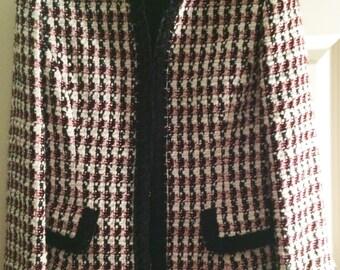 Dana Buckman Wool Blend Jacket