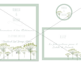 Wedding Stationary Wedding Card