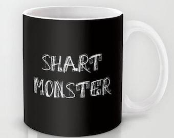 Shart Monster  - 11 oz or 15 oz Ceramic Mug