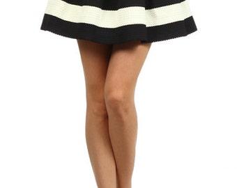 Stripe Skirt/Shorts Large