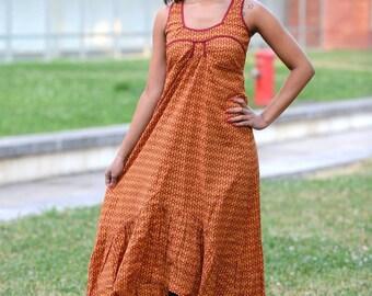 Vintage Dress 60s | Mod twiggy |Hippie| Boho| Gypsy |Free Spirit
