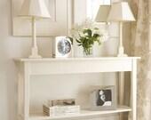 konsolentisch weiss. Black Bedroom Furniture Sets. Home Design Ideas