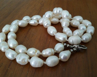 Baroque Freshwater Baroque Pearl Necklace freshwater Pearls Necklace