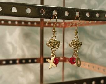 Celtic XO earrings