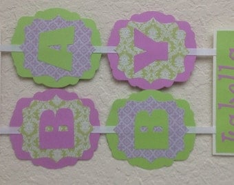 Welcome Baby Banner - Custom Colors - Baby  Banner - Baby Shower Decoration or Photo Prop