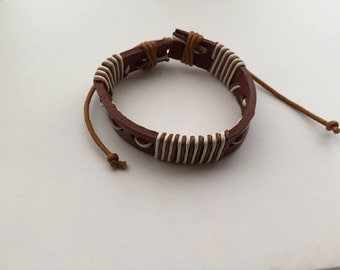 men light brown tribe bracelet