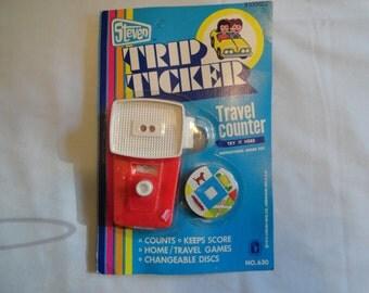 Vintage Steven Trip Ticker Travel Counter No. 630 By Steven Mfg. Co. 1973 Never Opened
