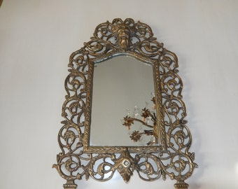 BRASS MIRROR WALL Hanging