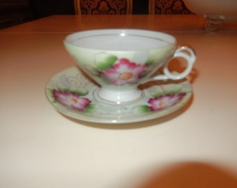 CHINA SEMCO TEACUP and Saucer