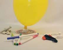 Science party hovercraft kit activity/science party favor/science party experiment