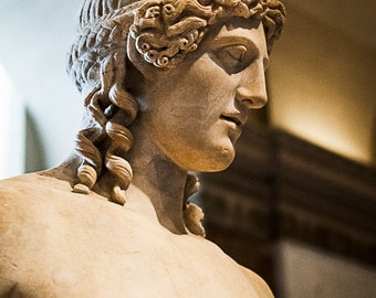 Fine Art Photography,Apollo, Paris, Louvre Museum, Home Decor, FREE SHIPPING