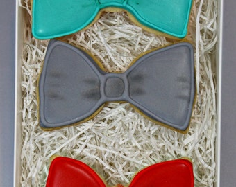 Custom Bowtie Cookie Trio