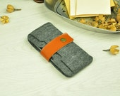 Felt iPhone 6 Case,Felt iPhone 6 Plus Case,iPhone 6s Felt Sleeve, iPhone 6 Leather Sleeve,iPhone 6 Wallet Case ,iPhone 6s Plus,iPhone 6-BN77