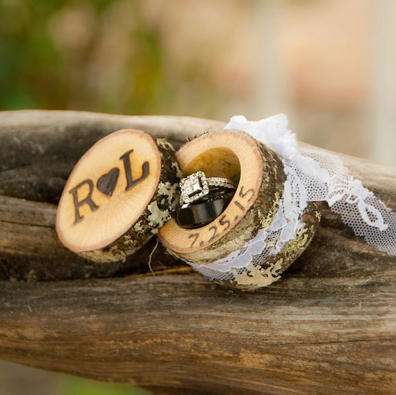 Wedding Ring Boxes Wedding Ring Box Wood Ring Box Proposal