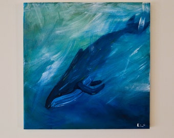 Humpback Whale Dive