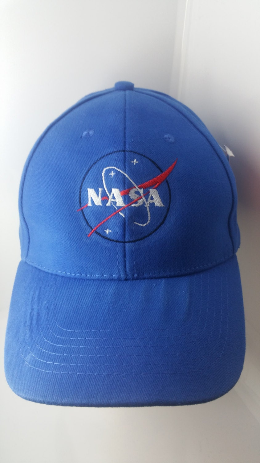 Nasa Space Logo Embroidered baseball Cap by EOTNEmbroidery ...