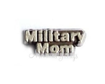 Military Floating Charm