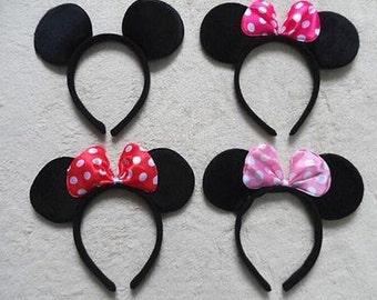 Minnie Mouse Ears, Party Favors, Birthday favors