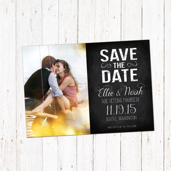 Save the date template card digital engagement announcement for Electronic save the date templates