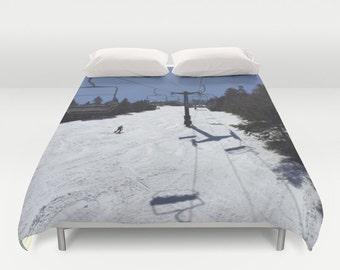 housse de couette hiver etsy. Black Bedroom Furniture Sets. Home Design Ideas