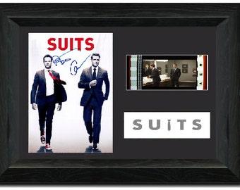 Suits 35 mm Framed Film Cell Display Stunning Signed Gabriel Macht Harvey Specter