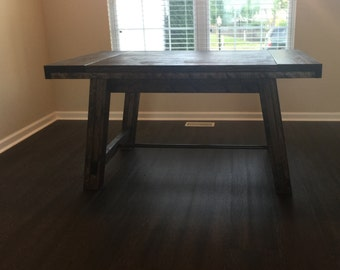 "60""-84"" Dining Table / Kitchen Table / Desk (Indiana Buyers) - Rustic, Farm, Farmhouse , Industrial, Indianapolis, 6', 7', 8', 72"", 84"", 96"""
