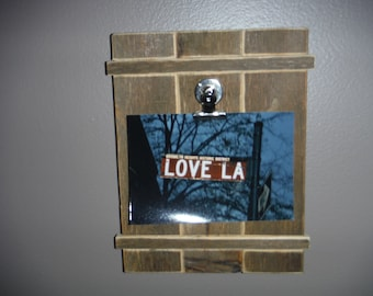hand made picture frame