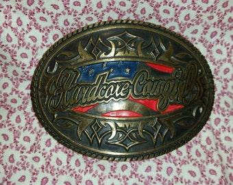 Hardcore Cowgirl belt buckle