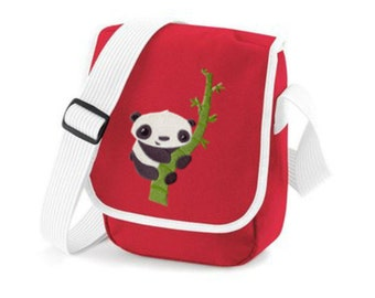 Pocket embroidered Panda