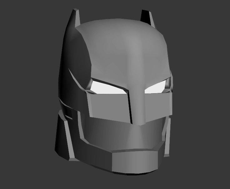 HD wallpapers batman mask template 3d