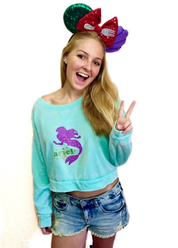 Little mermaid sweater