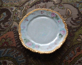 ANTIQUE PAINTED PLATE